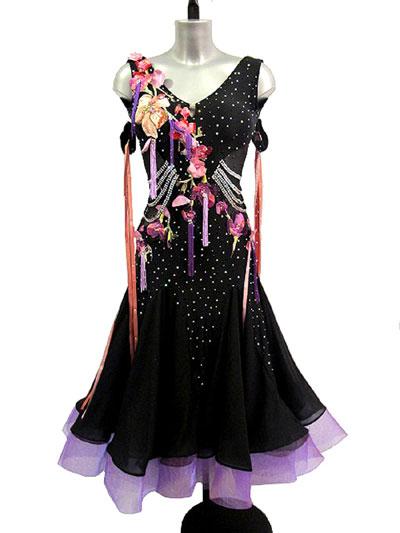 Lagina Standard Ballroom Dance Dress Showroom Acapulco Paradiso