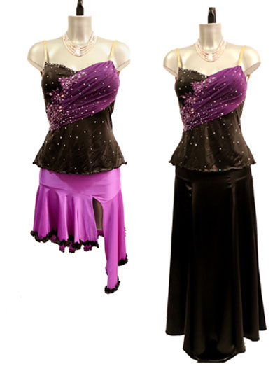 Thea 2in1 latin & ballroom dance dress