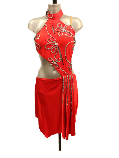 Regina Latin dance dress-size S/M