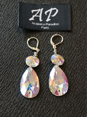 Vanity collection-design III Ballroom stones earrings