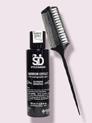 Promotion package (One hair gel+ one hair brush)
