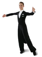 Balroom tailsuit with pants