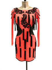 Parisa Latin dance dress-size S/M