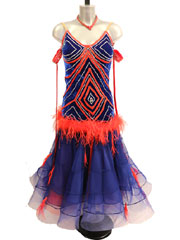 Marcella ballroom standard dance dress-size M/L