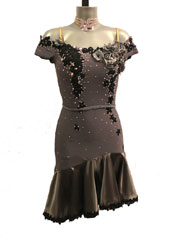 Emilia Latin dance dress-size M/L
